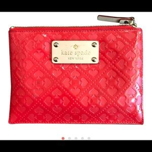 Kate Spade zippered bag